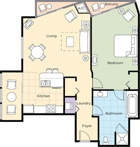 (1)BD DELUXE FLOOR PLAN *layouts may vary slightly