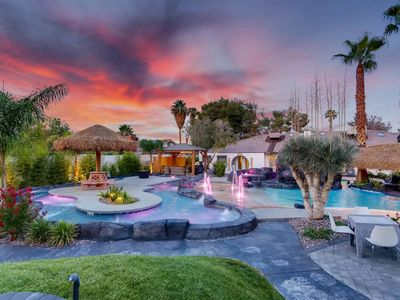 Photo for 7BD 5BA Mansion w/ Lazy River Hot Tub Sleeps 26