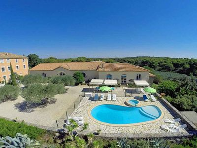 Photo for 5 bedroom Villa, sleeps 12 in Portiragnes with Pool
