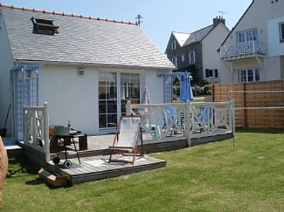 Photo for Gite With Sea Views and short stroll to the beach