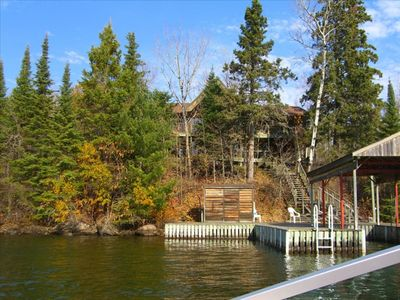 Photo for Lake of the Woods Waterfront Luxury Cottage near Kenora