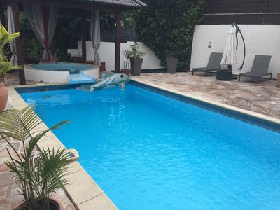Photo for Beautiful quiet villa with private pool and whirlpool