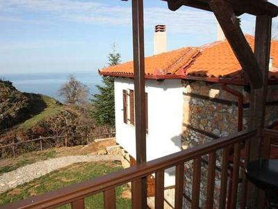 Photo for Double Room with Partial Sea View - Kastania-Gi