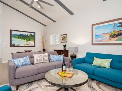 Photo for Oct $189/Night! Village location & ocean view! Walk to beach & shops!