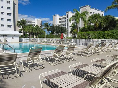 Photo for Casa Marina 2B/2B Vacation Condo On Canal!  Walk to Beach! Greetings From Sunny Florida!