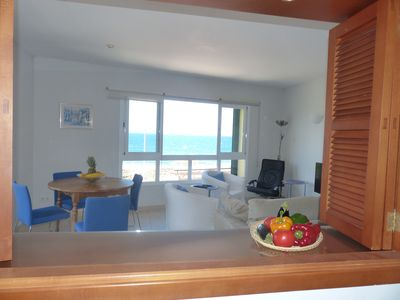 Photo for first line apartment 50 m from the beach