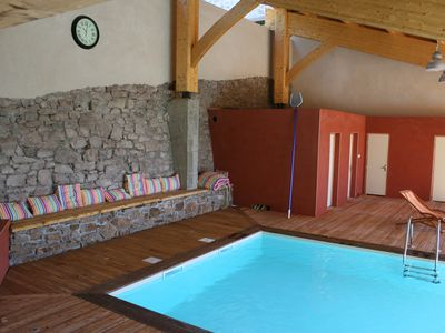 Photo for Ecological 4-star gîte 1055 m2 on one level- Heated pool 4 pers. Wireless