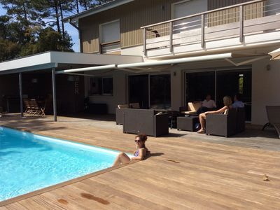 Photo for Large contemporary villa with 5 'Golf d'Hossegor