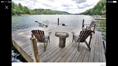 Photo for Peaceful Candlewood  lake/woods retreat.