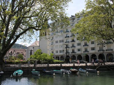 Photo for Large apartment for rent, Annecy center lake, mountain view