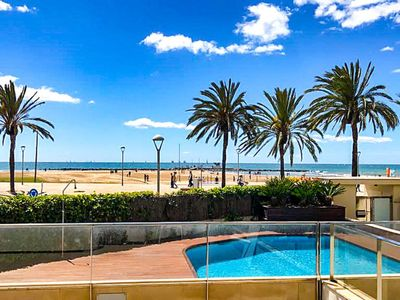 Photo for 3 bedroom Apartment, sleeps 7 with Air Con, FREE WiFi and Walk to Beach & Shops