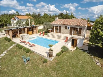 Photo for LUXURY VILLA WITH HEATED OUTDOOR SWIMMING POOL, JACUZZI, SAUNA, BBQ AREA..