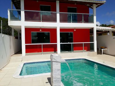Photo for Beautiful house for rent, with a great location in Barra do Jacuípe.