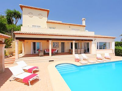 Photo for Vacation home Karibuni in Moraira - 8 persons, 4 bedrooms