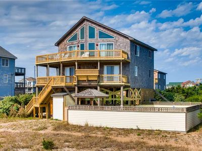 Photo for Family Fun Oceanfront Home w/ Pool, Tiki Bar, Hot Tub, Grill, WiFi, Dog-Friendly