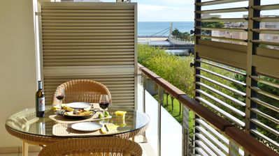 Photo for With large balcony and great views - 300 m from the beach