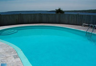 Private in-ground swimming pool