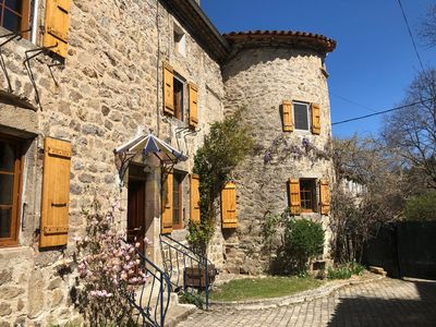 Photo for The Golden Tower - Ardèche House