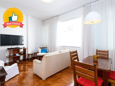 Photo for All in Rio Amplo 2 Bedrooms in Copacabana