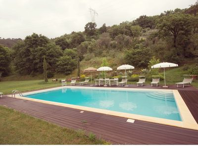 Photo for The Valley Farmhouse: Mansion with private swimming pool immersed in the green