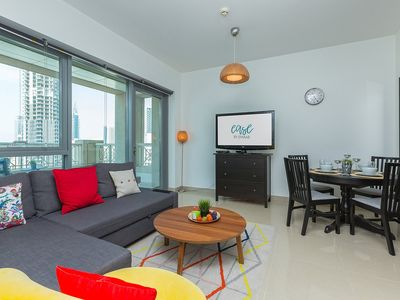 Photo for Cityscape {Ease by Emaar} Vibrant | One Bedroo...