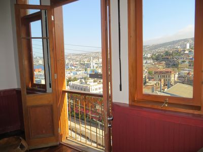 Photo for The best view of Valparaíso just 10 minutes from all places of interest
