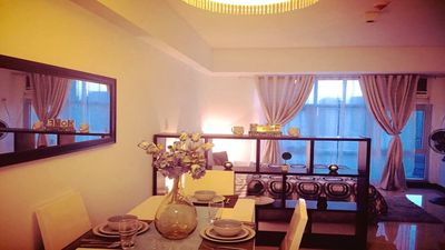 Beautiful furnished Living and Dining area