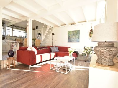 Photo for Semi-detached holiday home, just outside Schoorl, biking distance from the beach