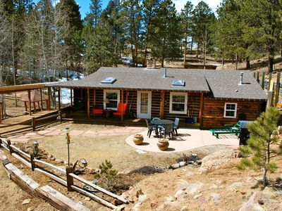 Photo for Beautiful and peaceful Cabin on 35 Acres!