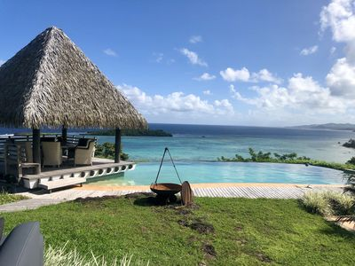 Photo for Oceanview Maravu Paradise Villa with Infinity Pool