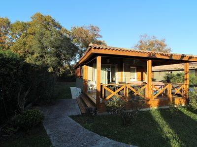 Photo for Chalet in a residential park of leisure 4/7 people