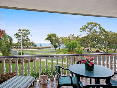 Photo for Huge top floor unit across the road....Waterfront!!