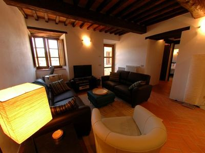 Photo for 2BR Villa Apartment In Heart Of Chianti W/Optional Vespa Scooters