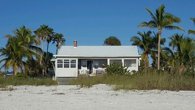 Photo for Amazing beach cottage ON the Gulf! The beach is your personal backyard!