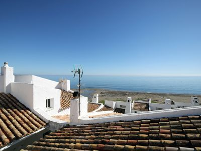 Photo for 2 bed apartment with spectacular views over the mediterranean