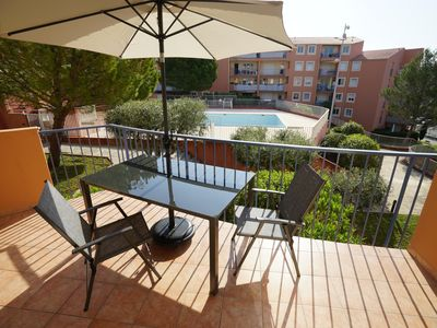 Photo for Superb bright and crossing T3, terrace, swimming pool.