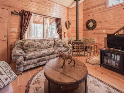 Photo for Moose Manor, 3 Bedrooms, Sleeps 6, Wood Stove, Gas Grill, WiFi