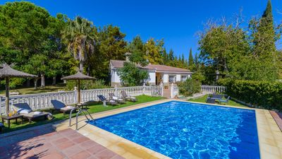 Photo for Holiday villa with a gorgeous garden in Ronda