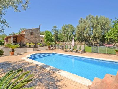 Photo for Country house for 8 persons-Private pool, 10000qm, Internet, TV