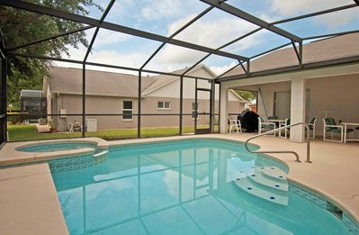 Photo for PRIVATE POOL & JACUZZI, BBQ GRILL, COMMUNITY POOL & PLAYGROUND, FREE WIFI!!