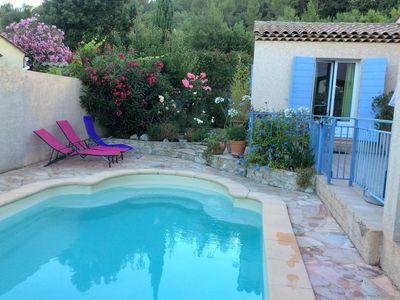 Photo for Friendly and very comfortable villa with pool - sleeps 8 - 4. Rooms