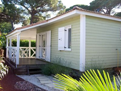 Photo for Californian cottage T3 standard near the beach