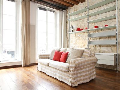 Photo for STYLISH APARTMENT IN THE MARAIS - A FEW STEPS AWAY FROM THE POMPIDOU CENTER