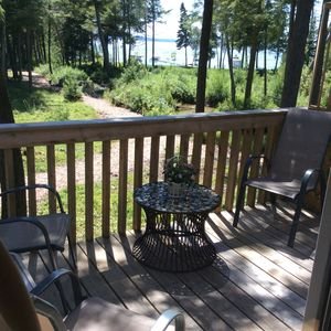 Little traverse bay View from the kitchen and deck