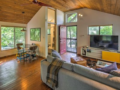 Photo for Chic Studio Bungalow in Trendy East Austin Area!