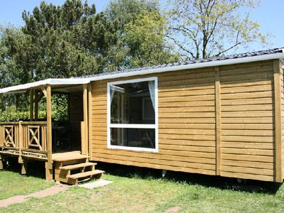 Photo for Camping Les Bruyeres *** - Mobile home Loggia 3 Rooms 4/6 People