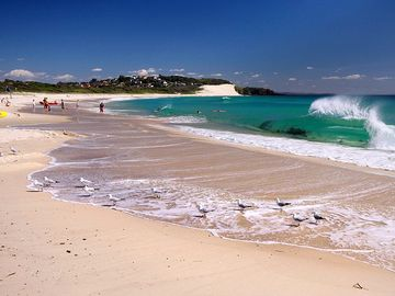 Forster Town Beach, Forster, New South Wales, Australia