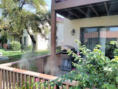 Patio Misting System Allows You to Enjoy Your Outdoor Space