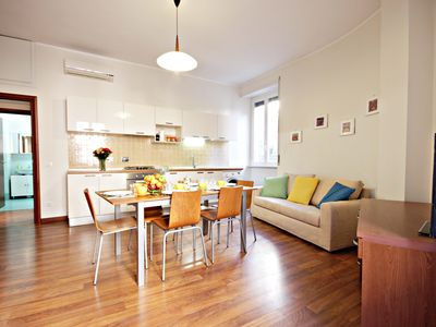Photo for Cerveteri  apartment in San Giovanni with WiFi, integrated air conditioning & lift.