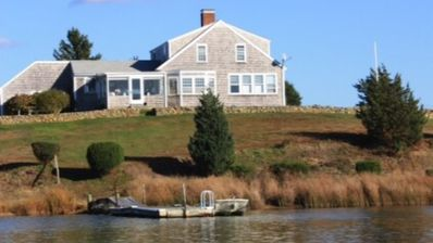 Photo for 2 Story Home, 4 Bedroom, 2 Bath With Beautiful Picturesque Views Of Oyster Pond